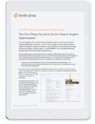 Bynder Group Guide to Search Engine Optimization
